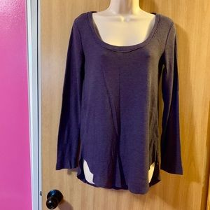 Purple Hinge blouse